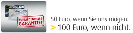 bild4krfx *Update* Comdirect Girokonto mit 50€ oder 100€ Bonus + GRATIS VISA Karte (keine Gebühren)