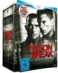Wieder da! Prison Break – Complete Box [24 Blu rays] für 54,97€