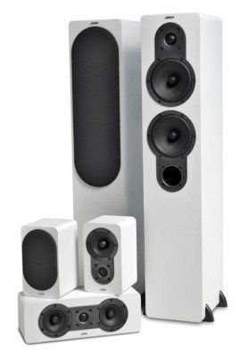 Jamo S426 HCS 3 5.0   Lautsprechersystem mit 5 Boxen für 249€ (statt 299€)