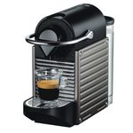 Krups XN 3005 Nespresso Pixie Electric Titan für 75,51€ (statt 83€) + 20€ Kaffeeguthaben