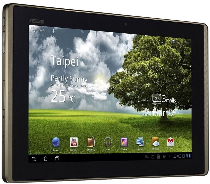 Asus  Asus EeePad Transformer TF101   10 Zoll 16 GB Android 3 Tablet für 199€