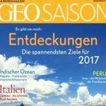 GEO Saison Jahresabo für effektiv 38€