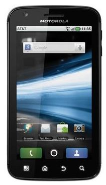 Motorola Atrix   Android Smartphone (Dual Core, 16GB) für 69,90€