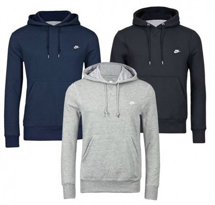 Nike Johnson Hoody in Schwarz, Grau oder Navy für 26,99€