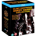 Dirty Harry Blu-ray Collection mit 5 Filmen in deutsch für 13,35€