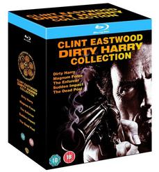 Dirty Harry Blu ray Collection mit 5 Filmen in deutsch für 13,35€