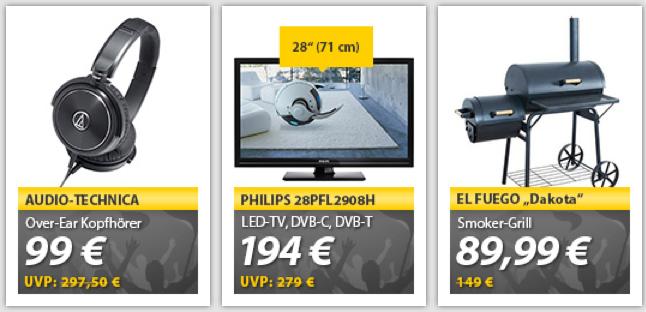 Bildschirmfoto 2014 06 19 um 10.07.31 OHA Deals! El Fuego BBQ Smoker Holzkohlegrill AY308 für nur 89€