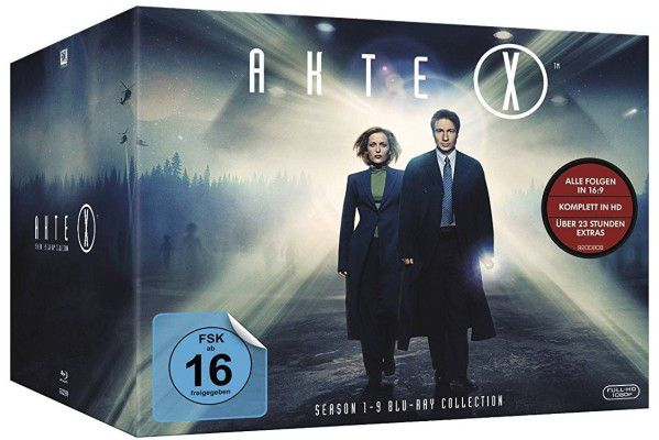 Akte X   Staffel 1   9 (Blu Ray) für 65€ (statt 80€)