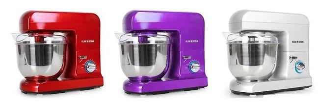 Küchenmaschine: Klarstein Gracia Rossa mit 1000W, inkl. Versand 69,90€