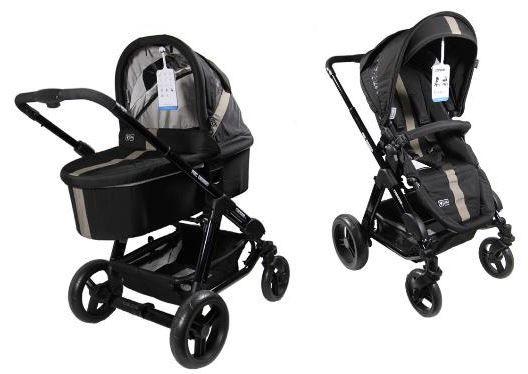 ABC Design Kombi Kinderwagen Condor 4S Sahara