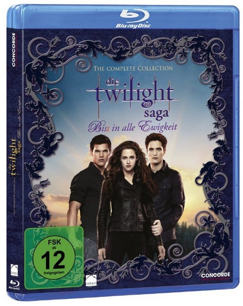 Die Twilight Saga The Complete Collection auf Blu ray für 12€