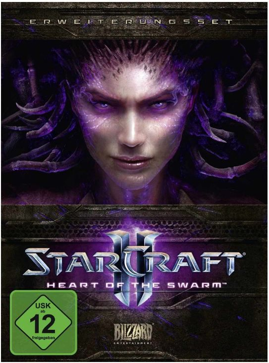 StarCraft II: Heart of the Swarm Add On ab 7,99€