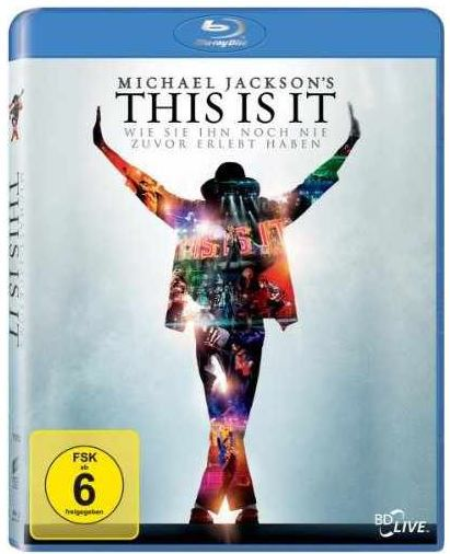 MJ Michael Jackson's This Is It   Dokumentation Blu ray ab 3,99€