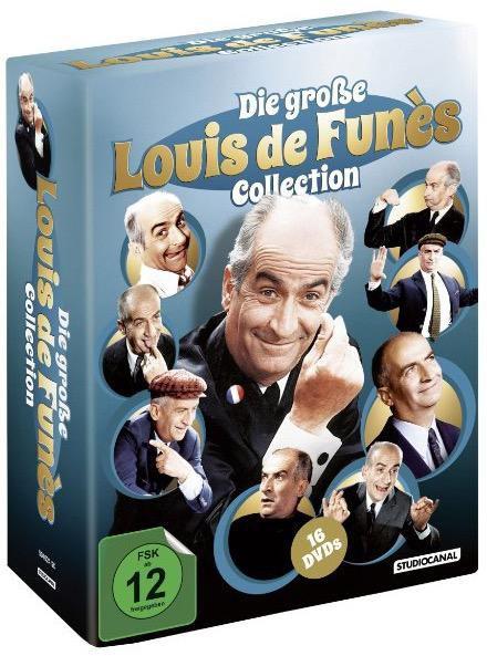 louis box Die große Louis de Funès Collection [16 DVDs] inkl. Versand 34,97€