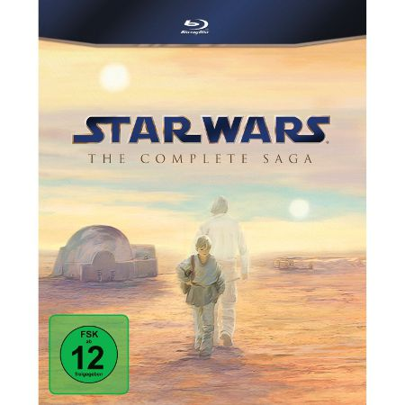 starwars Star Wars: Complete Saga 1 6 Blu ray Box für 59,99€   Update!