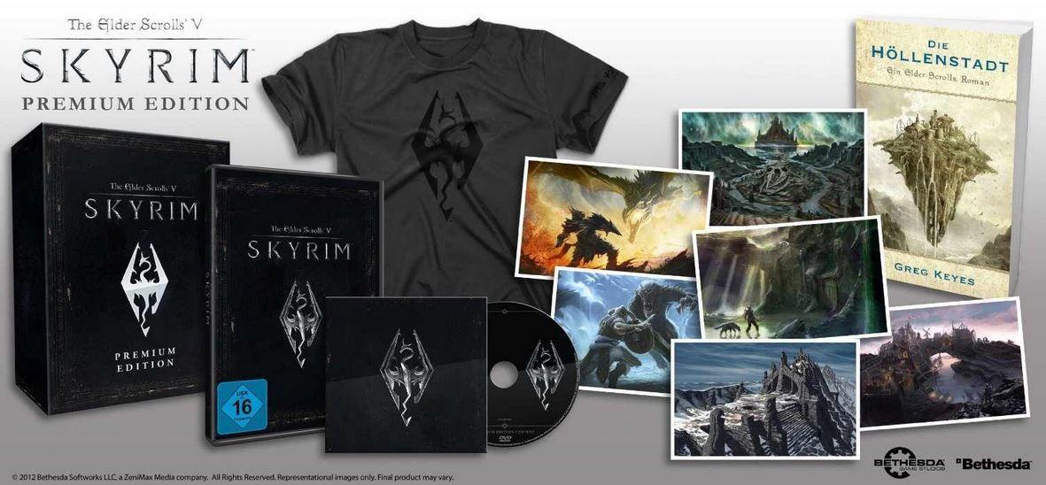 Skyrim The Elder Scrolls V: Skyrim Premium PC Game ab 14,95€   Update