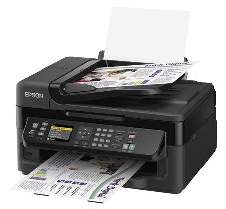 Epson WorkForce WF 2540WF für 79,99€   Multifunktionsgerät mit Drucker, Scanner, Kopierer und Fax