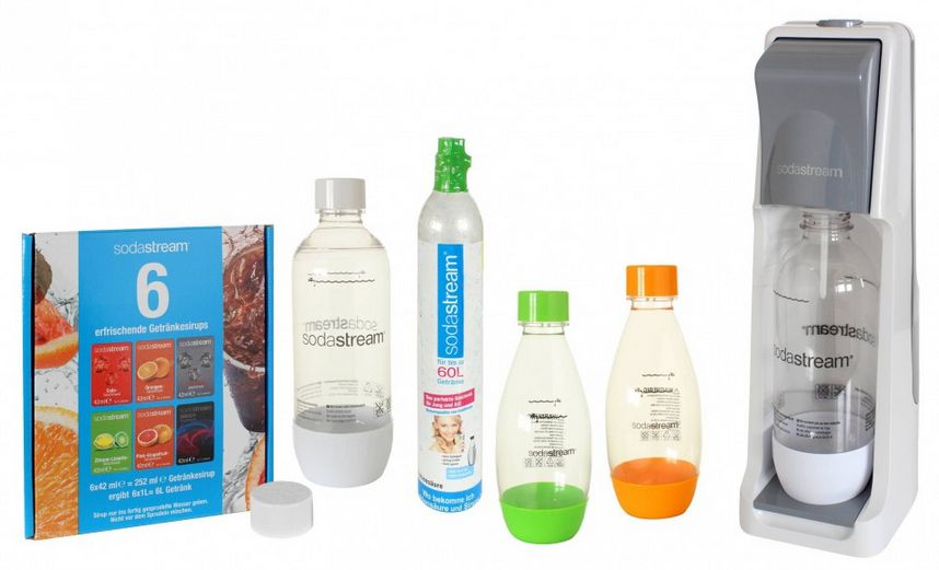 sodastream cool Sodastream Trinkwassersprudler Cool fim Megapack für 45€