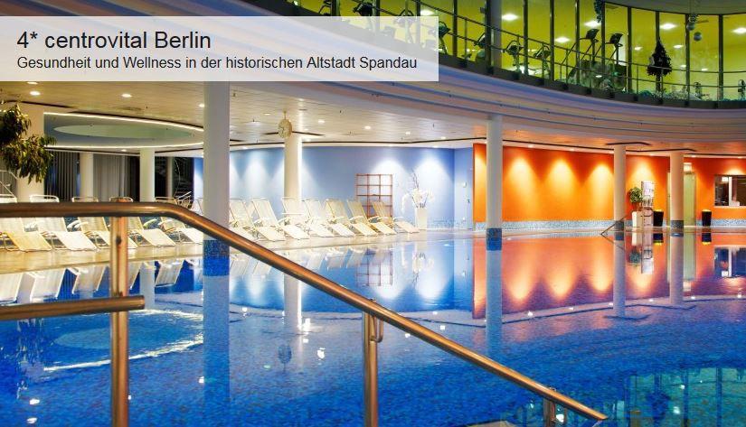 TOP! Doppelzimmer für 2 Personen pro Nacht im 4* Hotel Centrovital in Berlin Spandau ab nur 39€p.P.