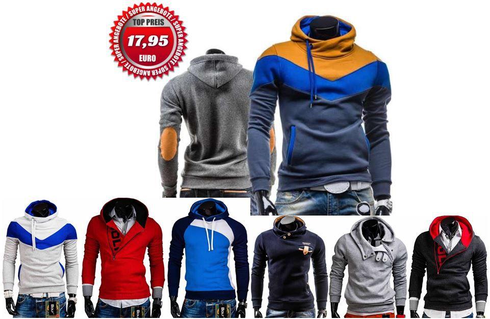 Bolf1 BOLF Herren Sweatshirts und Hoodies für je 17,95€   Update!