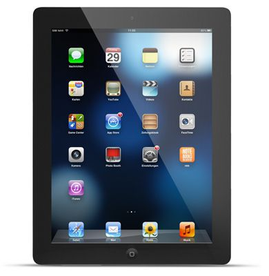 Apple iPad 4 Retina Display 32GB Wifi + 4G für 279€   B Ware!