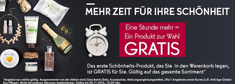 1610WN Yves Rocher: 1 Produkt GRATIS + 2 Proben (MBW 10€)