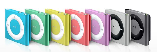iPod shuffle1 Apple iPod Shuffle 2GB für 19,99€ nur Click & Collect bei Gravis