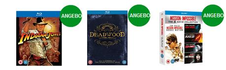 Extra Rabatte auf Blu Ray Boxsets bei Zavvi.