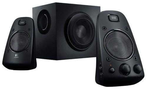 Logitech Z623   2.1 PC Lautsprechersystem für 60,68€ (statt 108€)