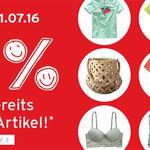 ernstings-family: 30% EXTRA-Rabatt auf SALE Ware + 10% Gutschein