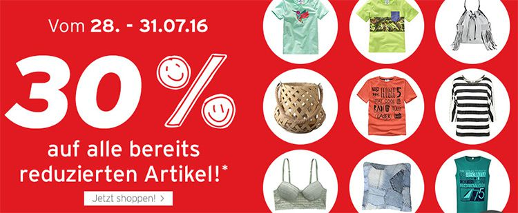 ernstings family sale ernstings family: 30% EXTRA Rabatt auf SALE Ware + 10% Gutschein