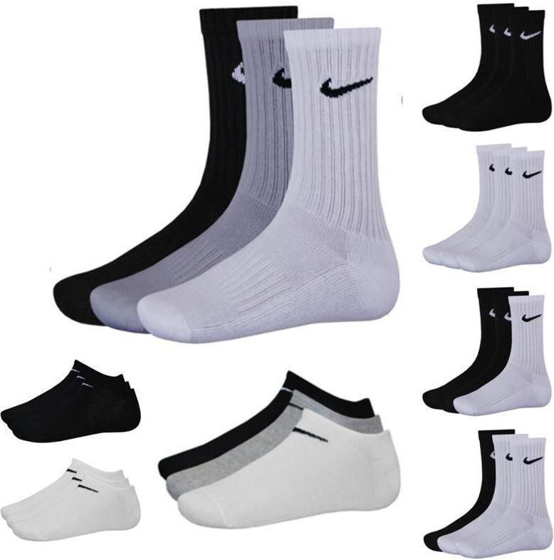 Nike Socken Nike   9er Pack Sneaker oder Sportsocken für 22,90€   Update!