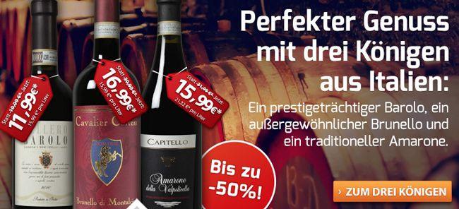 6 Flaschen Bellero   Barolo DOCG Jahrgang 2010 für nur 52,44€