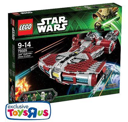 LEGO Star Wars Jedi Cruiser LEGO Star Wars Jedi Cruiser 75025 für 69,93€ statt 95€