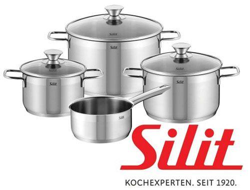 Silit Kochtopfset Pisa, 7 teilig   statt 90€ für 55€   Update!
