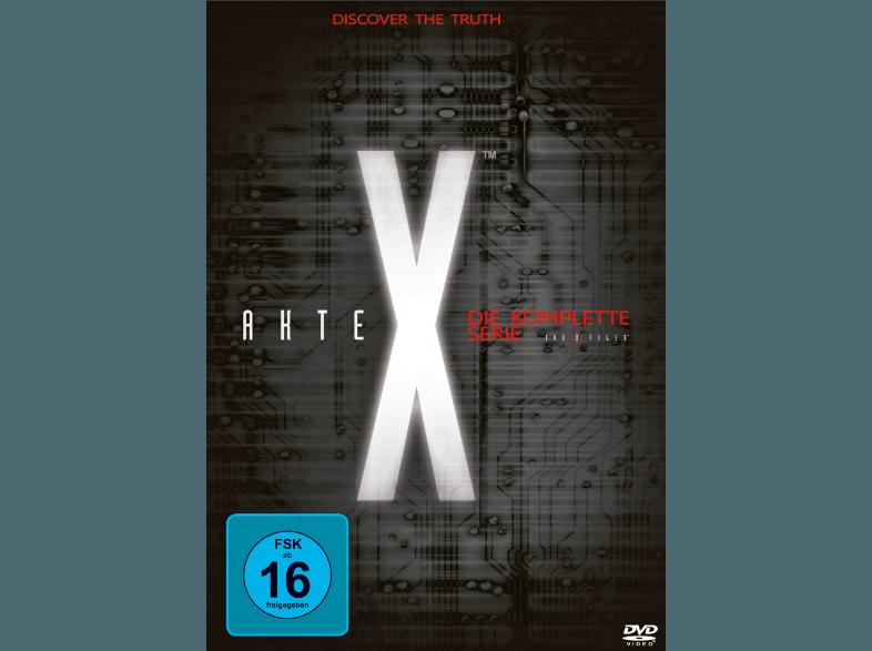 Akte X   die komplette Serie (Staffel 1 9) auf DVD für nur 54€ inkl. Versand