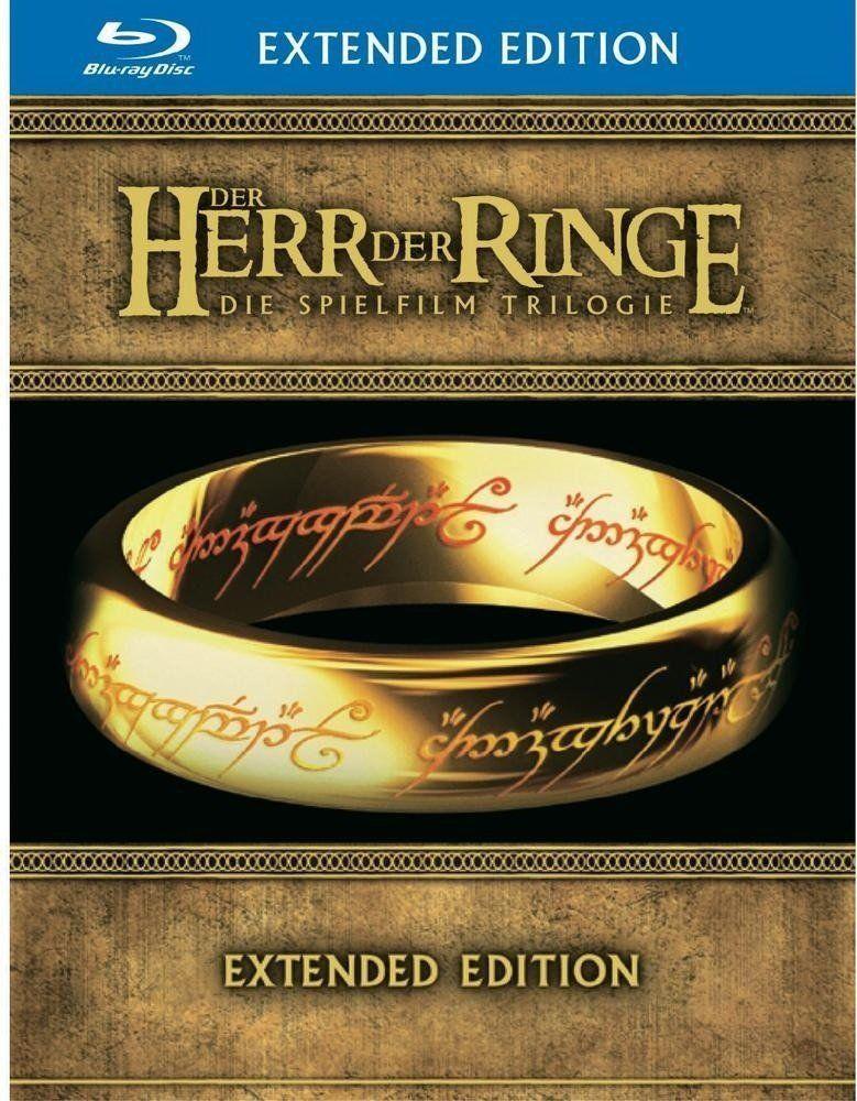 Der Herr der Ringe   Die Spielfilm Trilogie (Blu Ray Extended Version) für nur 39,97€ (statt 50€)