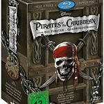 Pirates of the Caribbean: Die Piraten-Quadrologie (5 Blu-Rays) für 14,39€ (statt 20€)