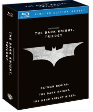 Batman: The Dark Knight Trilogy als Blu ray Box für 11,99€ (statt 19€)