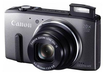 Canon PowerShot SX270 HS Canon PowerShot SX270 HS   12MP Digitalkamera für 169,95€ (statt 195€)
