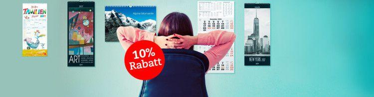 10% Rabatt auf Kalender bei Thalia