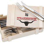 2x 12-teilig WMF Steakbesteck in Holzkiste für nur 43,70€ (statt 60€)