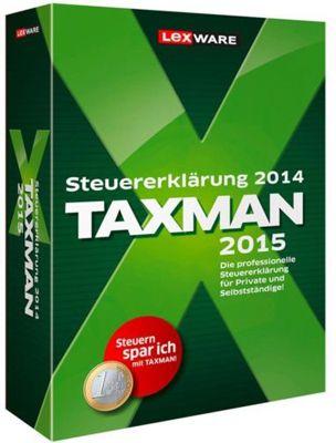 Taxman1 Lexware Taxman 2015 für 19,99€   Steuersoftware für 2014