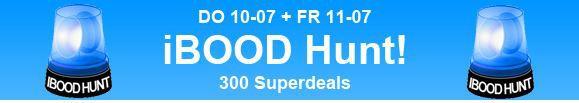 ibood Tipp! iBOOD HUNT   ab Donnerstag Ausverkauf im Minutentakt! Rabatte bis zu 50%   Update