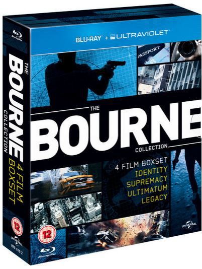 The Bourne Collection 1 4 auf Blu ray für nur 11,42€