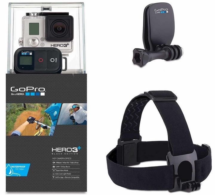 Hero1 Hammer! GoPro HERO3+ Black Expoler Edition   FullHD ActionCam 339€ und andere!