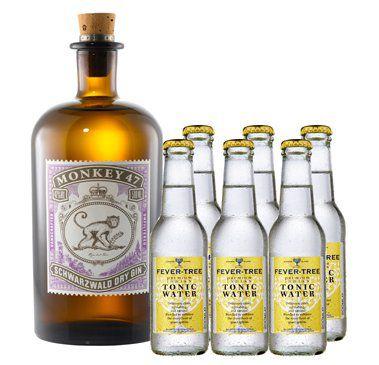 Monkey 47 Gin Monkey 47 Aqua Monaco Tonic Set für 32,90€