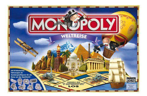 Monopoly Weltreise  Monopoly   Weltreise ab 18€