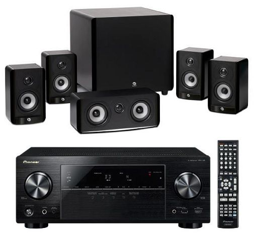 Pioneer HTP 203  Pioneer HTP 203   5.1 AV Receiver mit AirPlay für 333€   Update!