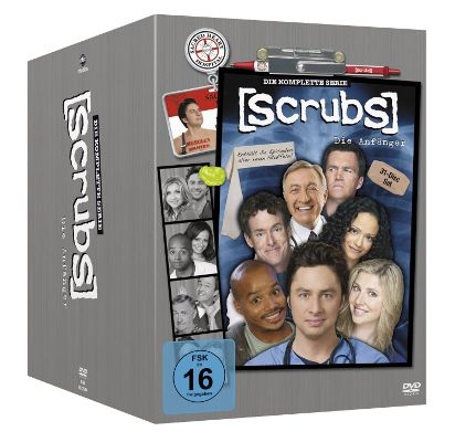 Scrubs Staffel 1 9 DVD Box für 33,99€ (statt 45€)